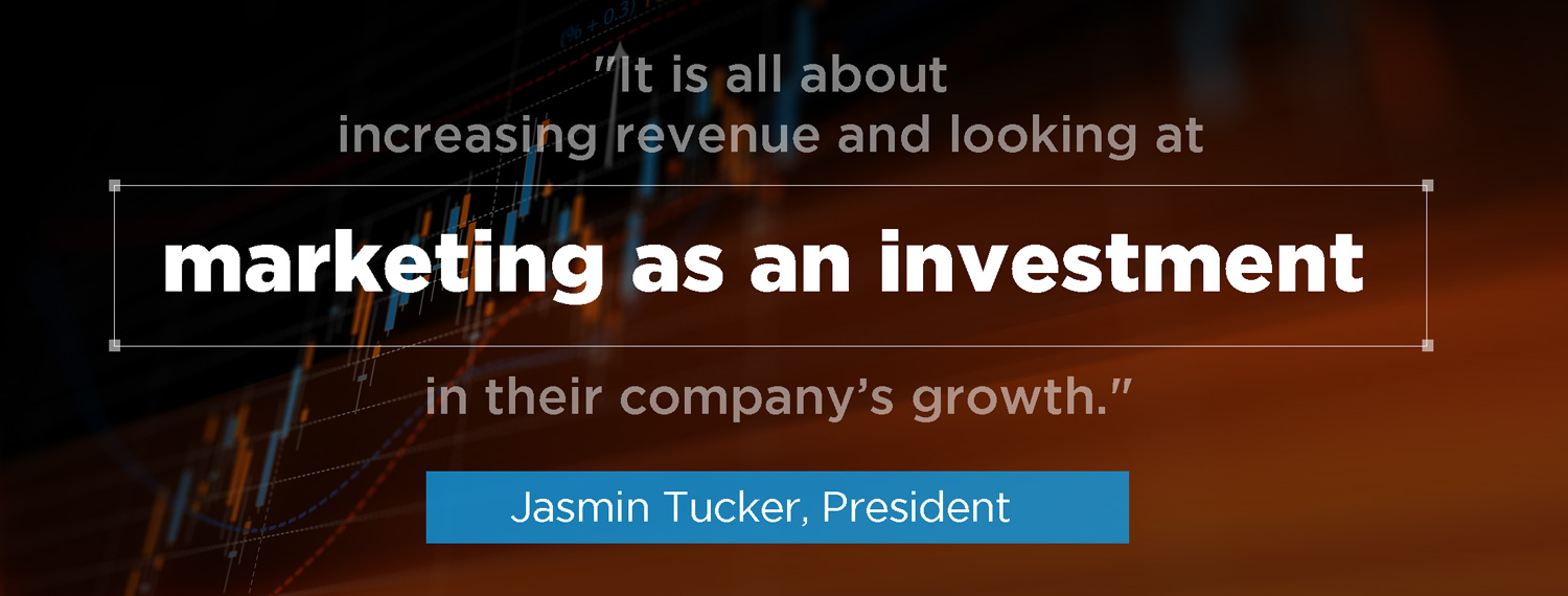 quote from Jasmin Tucker of digital marketing agency and media buying agency Advantage